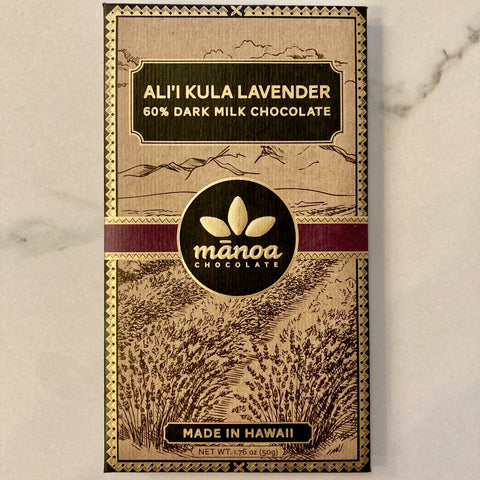 Manoa LAVENDER 60% Dark Milk Bar