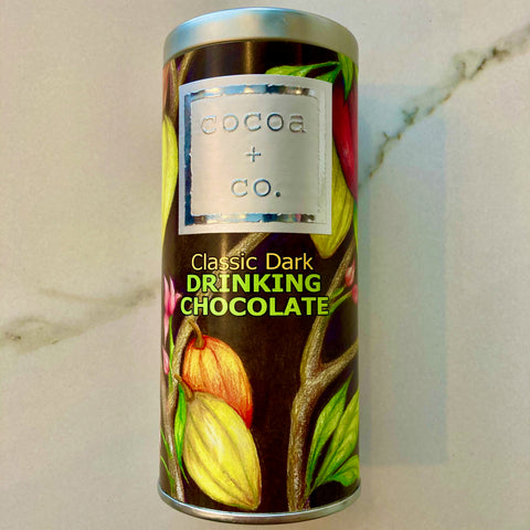 Cocoa + Co. DRINKING CHOCOLATE Canister