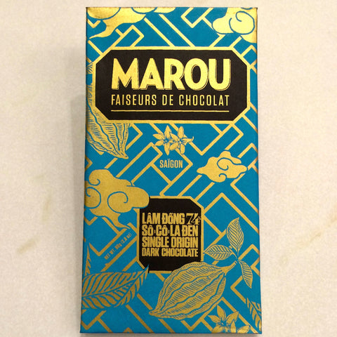 Marou Lam Dong 74% Dark Chocolate Bar