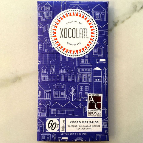 Xocolatl Small Batch Chocolate Kissed Mermaids Bar