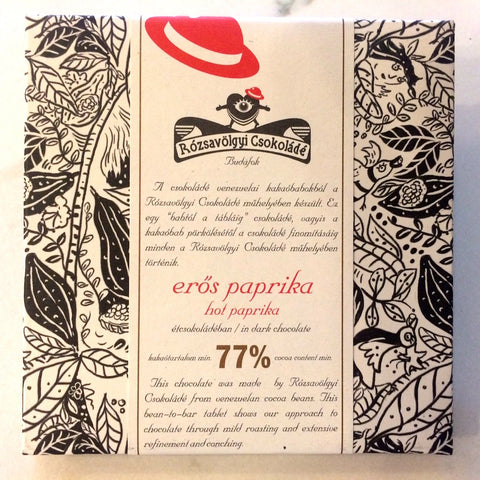Rozsavolgyi EROS HOT PAPRIKA 77% Bar