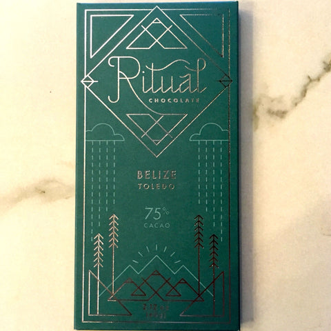 Ritual Belize 75% Dark Chocolate Bar