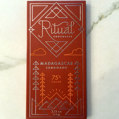 Ritual Madagascar 75% Dark Chocolate Bar