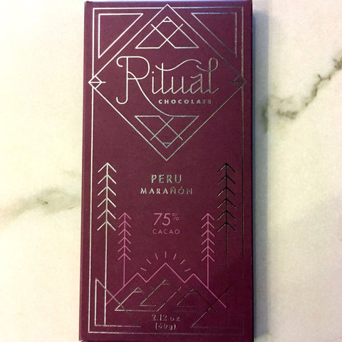 Ritual Peru Maranon 75% Dark Chocolate Bar