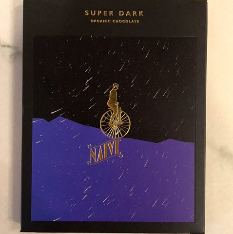 Naive Super Dark 80% Dark Chocolate Bar