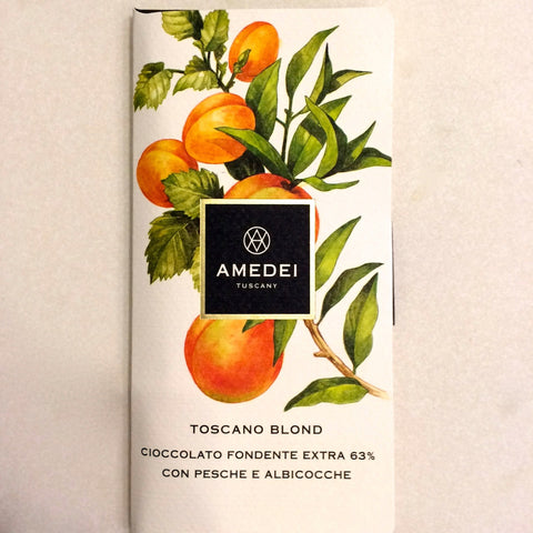 Amedei Toscano Blond 63% Dark Chocolate Bar