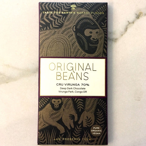 Original Beans Cru Virunga 70% Dark Chocolate Bar