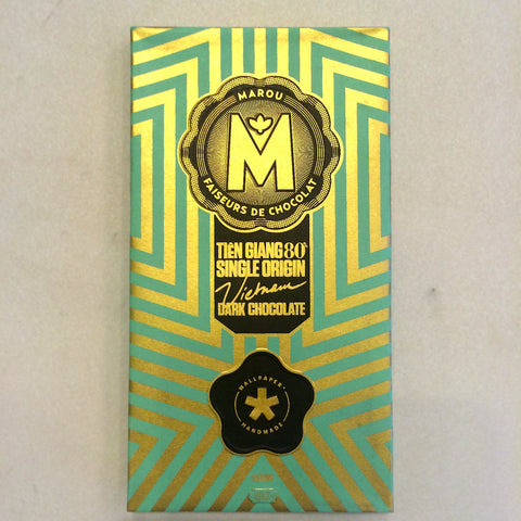 "Marou ""Wallpaper"" 80% Dark Chocolate Bar"