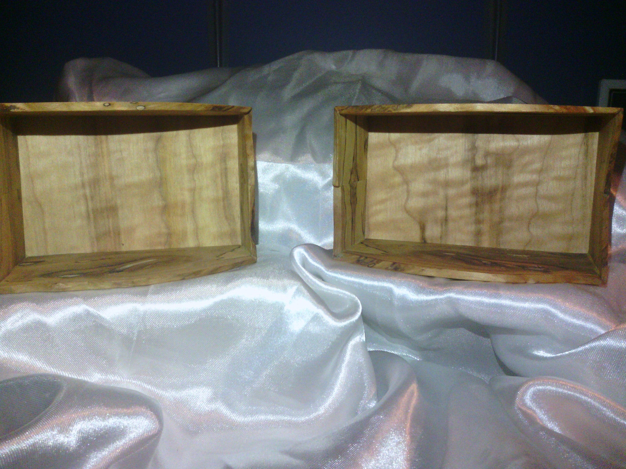 Spalted Holley Pair