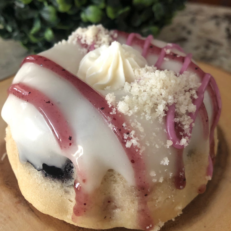 Blueberry Lavender Cheesecake Mini Bundts (6 Pack)