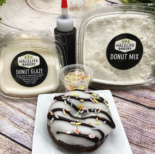 Chocolate Sprinkle Donut Kit (Bake At Home)