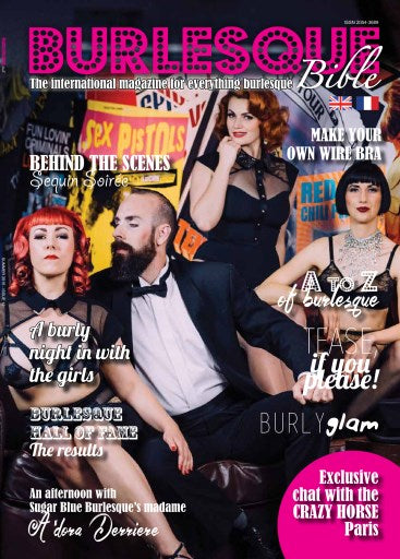 17ef75d3e89 BB Cover with Tatu Couture – Burlesque Bible