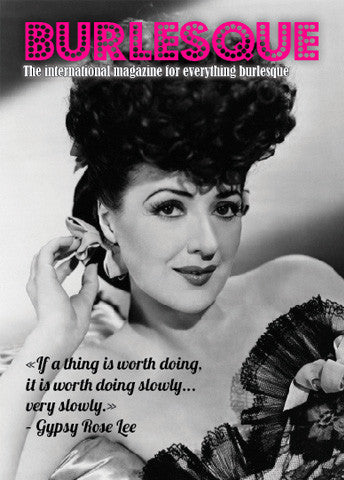 Special Gypsy Rose Lee mini mag
