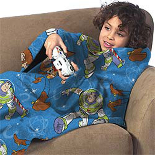 Toy Story Star Defender Comfy Throw Blanket Sleeves