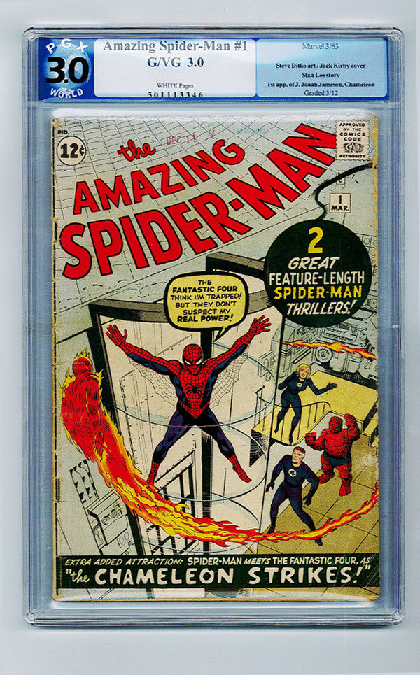 Amazing Spider-man #1 CGC 3.0