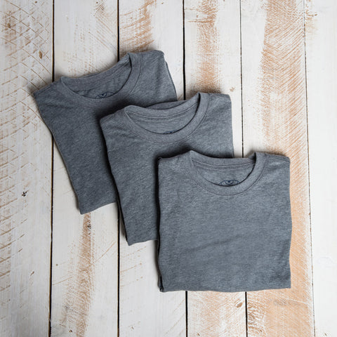Heather Grey Collection 3-Pack Non-Member