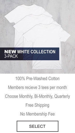 The Tee Project - Heather Grey Collection 3-Pack