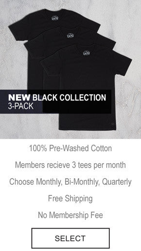 The Tee Project - Black Collection 3-Pack