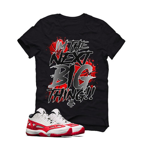 Jordan 11 Space Jam Black T Shirt (Henny)