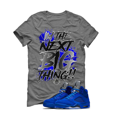 Air Jordan 5 Blue Suede Grey T (BIG THING)