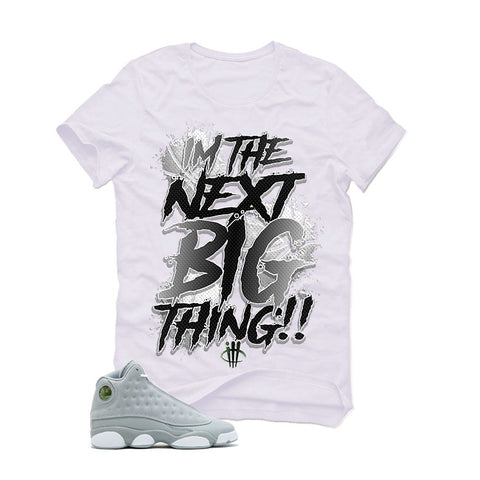 Air Jordan 13 Wolf Grey GS White T (BIG THING)