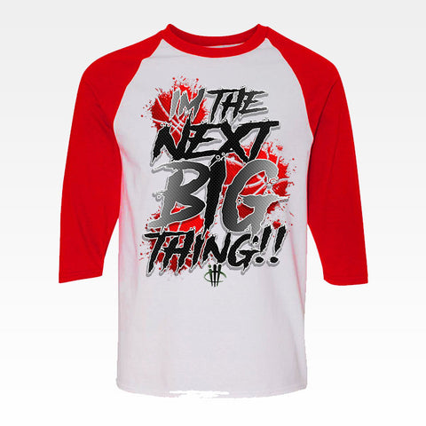 Air Jordan 5 University Red White and Red Baseball T (BIG THING)