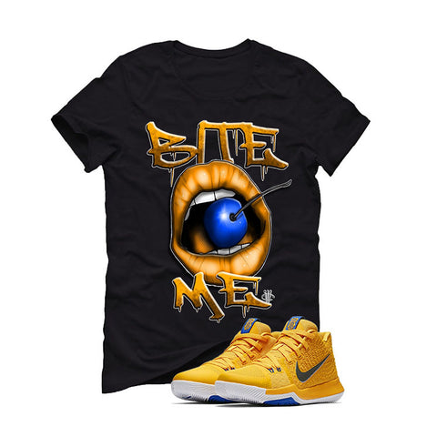 Nike Kyrie 3 Mac and Cheese Kids Black T (BITE ME)