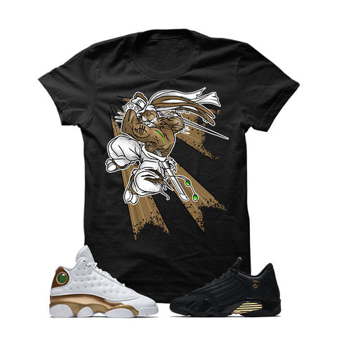 Jordan 13/14 Defining Moments Pack Black T Shirt (BUGS)