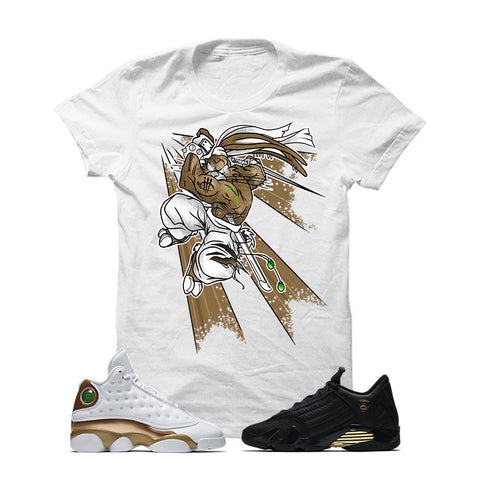 Jordan 13/14 Defining Moments Pack White T Shirt (BUGS)