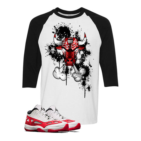 Air Jordan 11 Low IE White And Black Baseball T (BULLY)