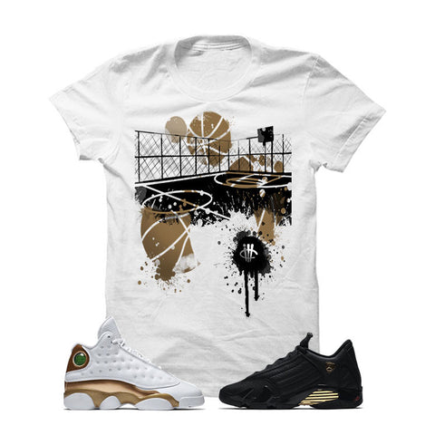 Jordan 13/14 Defining Moments Pack White T Shirt (B COURT)