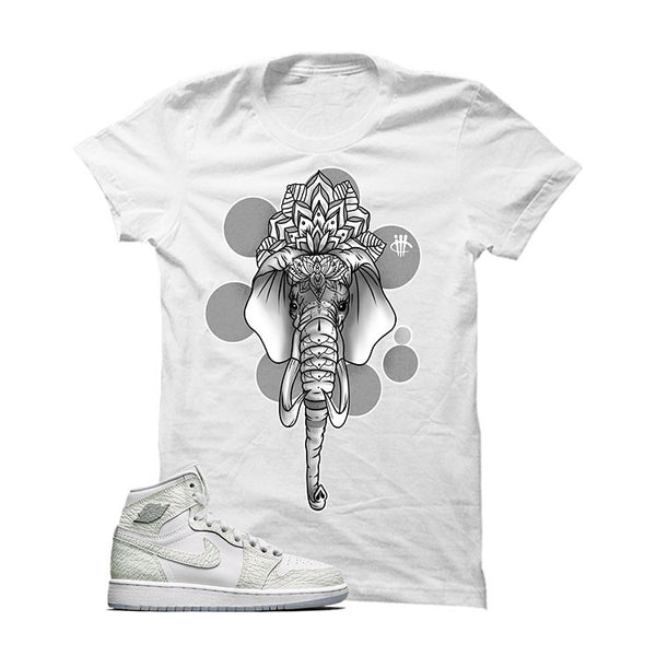 "Air Jordan 1 High Heiress ""Frost White"" Official Matching Shirts"