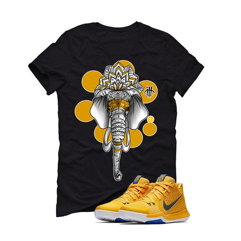 Nike Kyrie 3 Mac and Cheese Kids Black T (ELEPHANT)