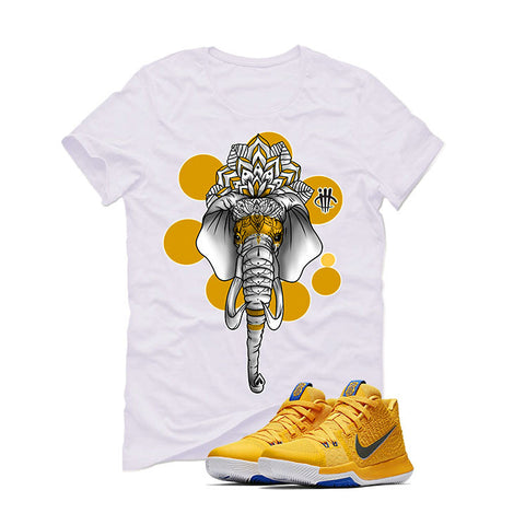 Nike Kyrie 3 Mac and Cheese Kids White T (ELEPHANT)