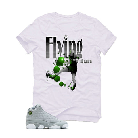 Air Jordan 13 Wolf Grey GS White T (FLYING HIGH)