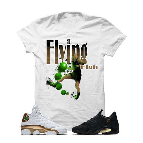 Jordan 13/14 Defining Moments Pack White T Shirt (FLYING HIGH)