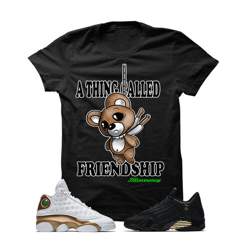 Jordan 13/14 Defining Moments Pack Black T Shirt (FRIENDSHIP)