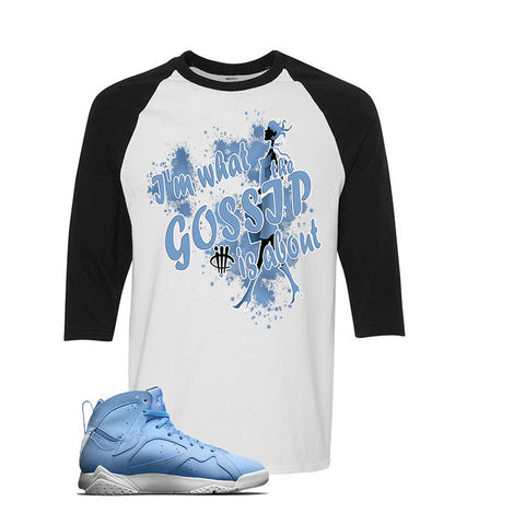 Jordan 7 Pantone Black T Shirt (Lady Liberty)