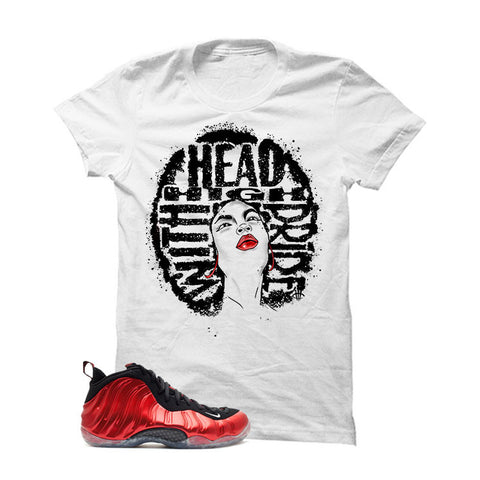 Nike Air Foamposite One Metallic Red White T (Head High)