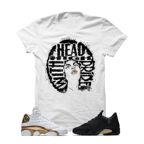 Jordan 13/14 Defining Moments Pack White T Shirt (HEAD HIGH)
