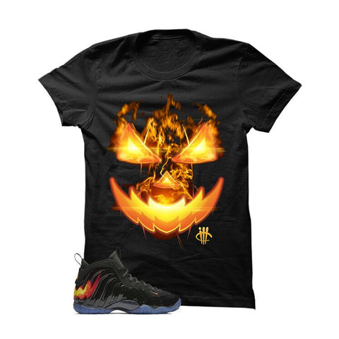 Halloween Foamposite Black T Shirt (Nightmare)
