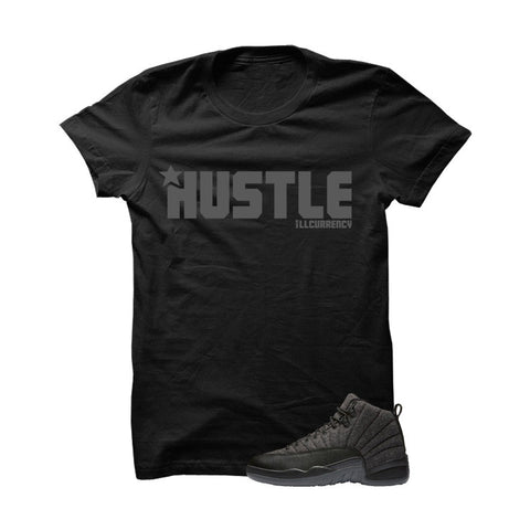 Jordan 12 Wool Black T Shirt (El Jefe)