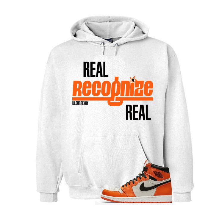 Jordan 1 Reversed Shattered Backboard White T Shirt (Real Recognized Real) - illCurrency Matching T-shirts For Sneakers and Sneaker Release Date News - 2