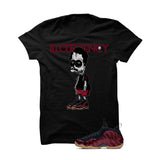 Foamposite One Maroon Black T Shirt (Escobart) - illCurrency Matching T-shirts For Sneakers and Sneaker Release Date News - 1