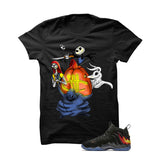 Halloween Foamposite Black T Shirt (Nightmare) - illCurrency Matching T-shirts For Sneakers and Sneaker Release Date News