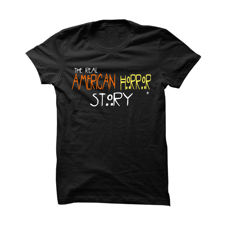 Halloween Foamposite Black T Shirt (American Horror Story) - illCurrency Matching T-shirts For Sneakers and Sneaker Release Date News