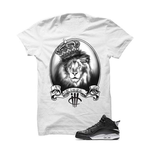 Jordan Dub Zero Oreo Black T Shirt (Love Hurts)