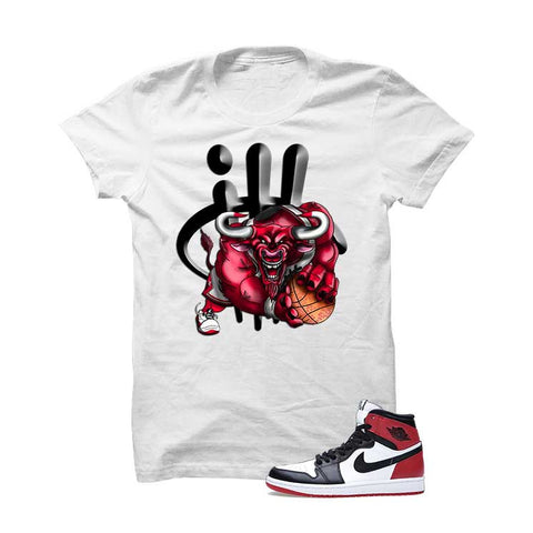Jordan 1 Og Black Toe White T Shirt (Haters Gonna Hate)