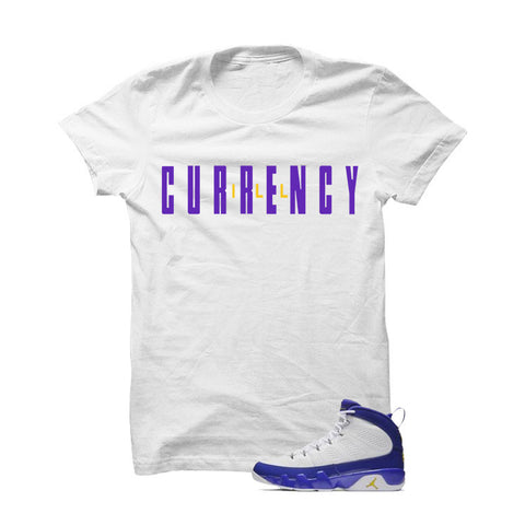Jordan 9 Lakers Black T Shirt (Queen Of My City)