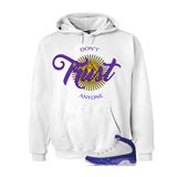 Jordan 9 Lakers White T Shirt (Trust No One) - illCurrency Matching T-shirts For Sneakers and Sneaker Release Date News - 3